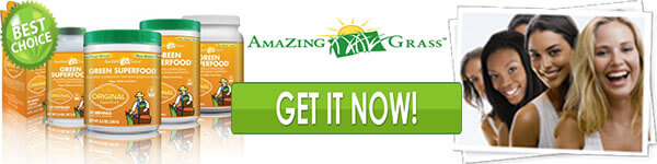 Amazing Grass Green SuperFood Footer
